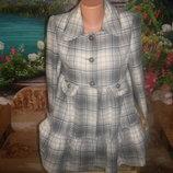 пальто женское шерстяное р 12