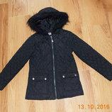 Демисезонная куртка F&F для девочки 6-7 лет, 116-122 см