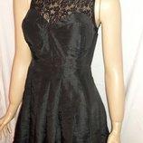 Платье черное размер 8-10