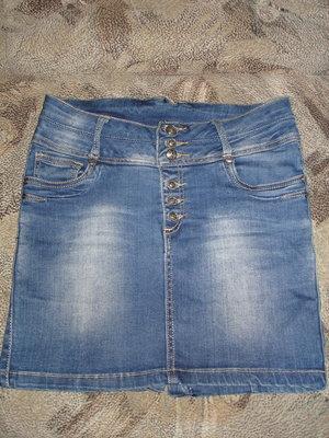 Юбочка джинс 46 размер