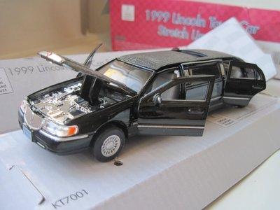 Машинка металл Limousine Lincoln 1999
