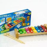 Деревянный Ксилофон 0459 музыкальные инструменты дерево