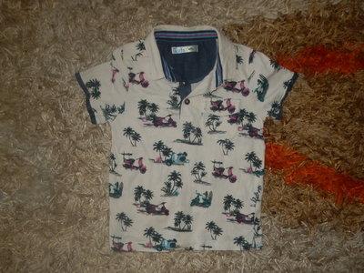 Футболка, тениска для мальчика 4-5лет. р110