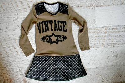 платье Винтаж 7-9 лет