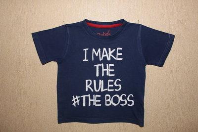 Классная футболка Rebel для мальчика