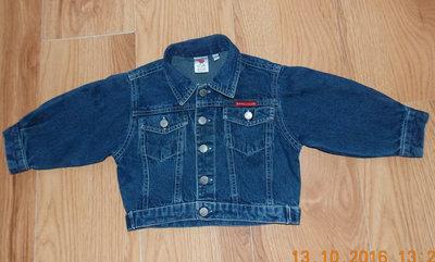 Джинсовый пиджак Baby Club для ребенка 9-12 месяцев, 80 см