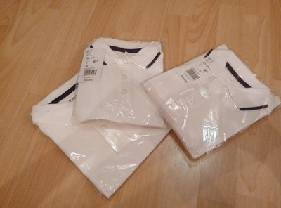 рубашка белая на ребенка 4-5-8 лет prenatal