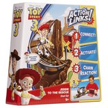 Набор Toy Story 3 Action Links Jessie to the Rescue Stunt Set фирмы Mattel