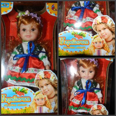 Музыкальная кукла Украиночка
