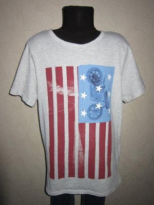 На 9-10 лет Крутая футболка Logg от H&M мальчику