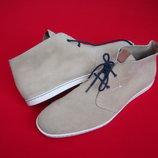 Ботинки Fred Perry оригинал натур замша 45-46 размер