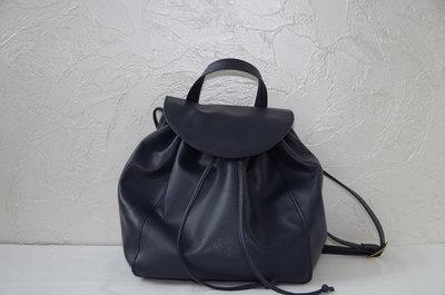 Синий женский рюкзак