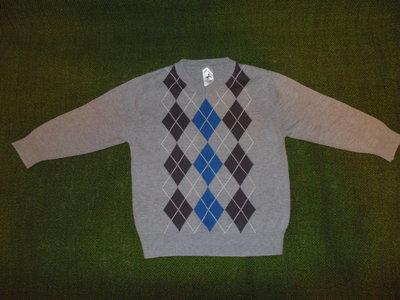 Серый свитер, джемпер PALOMINO. 5 лет,110р.