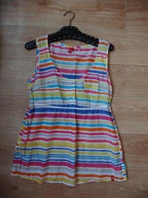 Снизила цену Летняя майка в разноцветную полоску L - размер