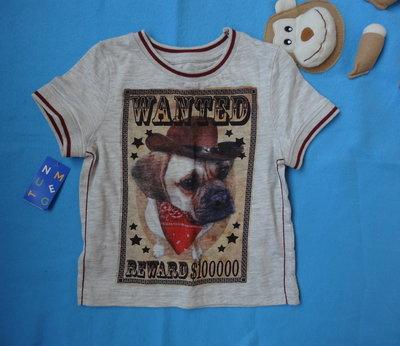 Прикольная футболка на мальчика 1-2