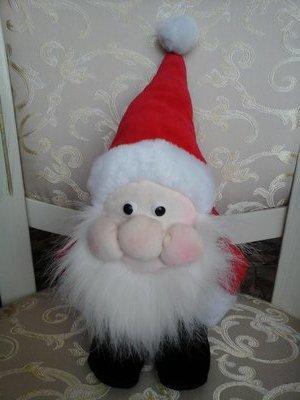 Оригинальный Санта Дед Мороз мягкая игрушка новогоднее Новый год подарок дом декор интерьер