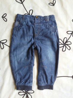 Крутые джинсы с подкладкой от George на 12-18 мес., 81-86 см
