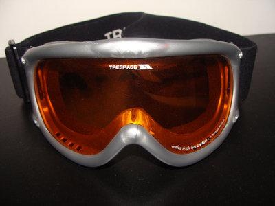 лыжная маска Trespass изогнутая оригинал Uvex Alpina
