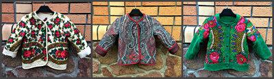 Курточки, пальто в українському стилі