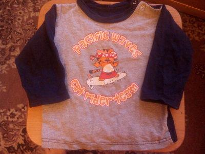 Толстовочка для малышей 12-18 месяцев