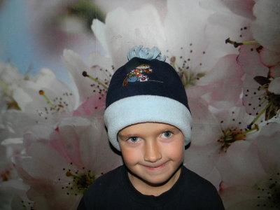 шапка Next зимняя на мальчика 5-7 лет новая