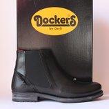Шикарні шкіряні ботіночки Dockers by Gerli, Німеччина-Оригінал