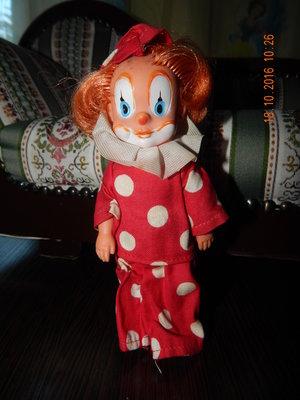 кукла , клоун , рост 15 см, номерна