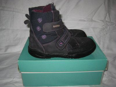 Сапоги ботинки Damling с мембраной Sympa-Tex Германия 30-31 размер по стельке 20 см.Кожаные. Зимние.