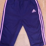 Штаны Adidas на девочку 9-12 месяцев