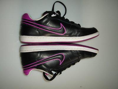 Кожаные ботинки, кроссовки Nike Double Team Lite, оригинал, р 37,5 UK 4.5 , стелька 24 см в идеале