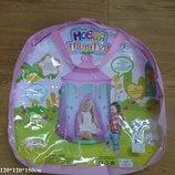 Палатка замок волшебный розовая мечта 889-182B в сумке 150 120 120