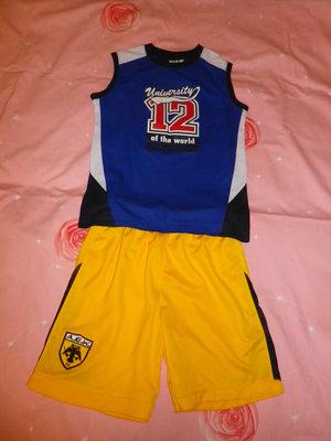 Майка и шорты для футбола р.128