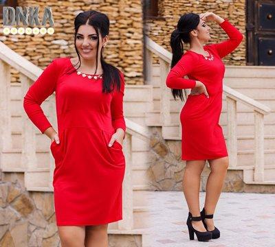 Платье с украшением 50-56 р-р