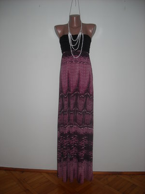 Платье Mooloola фиолетовое с черным