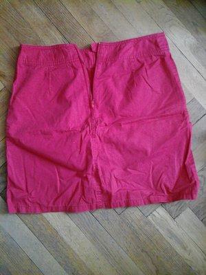 Красная юбка H&M c-m