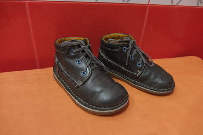 Ботинки деми д/мал. р. 24 7 Clarks, натуральная кожа полностью