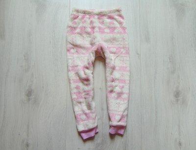 Тёплые махровые штаники для девочки. Disney. Размер 4-5 лет. Состояние идеальное
