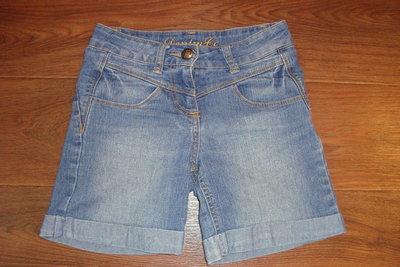 Шорты джинсовые на девочку 5-7 лет