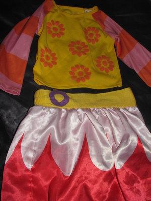 Карнавальный костюм Цветочка.