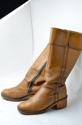 Зимние кожаные сапоги на меху, р37,38