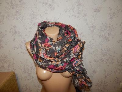 шарф-парео стильный модный