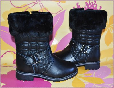 Стильные кожаные сапоги для модниц Новинка