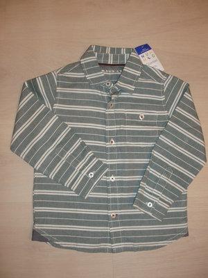 Рубашка Новая мальчику на 4-5 лет. Фирма .Nutmeg