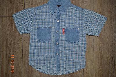 Джинсовая рубашка C&A,р. 98см
