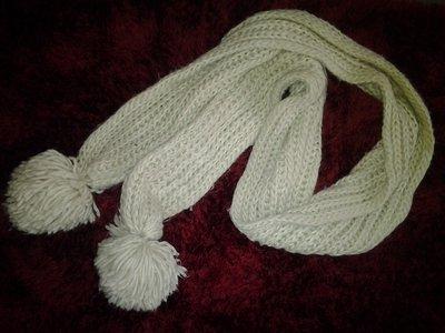 Теплый женский шарф.