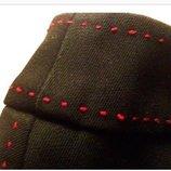 Юбка - карандаш с красной отстройкой 40-46 новая на подкладке