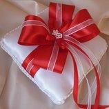свадебные подушечки для колец, подушечки для колец ручной работы