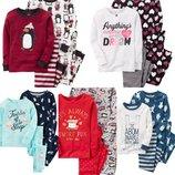 Пижамы Carter's 18 мес-5t флисовые и котоновые