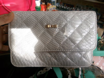 сумочка клатч с бантиком