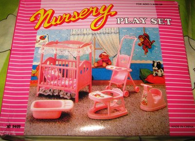 Кукольная мебель Глория Gloria 9409 Детская комната